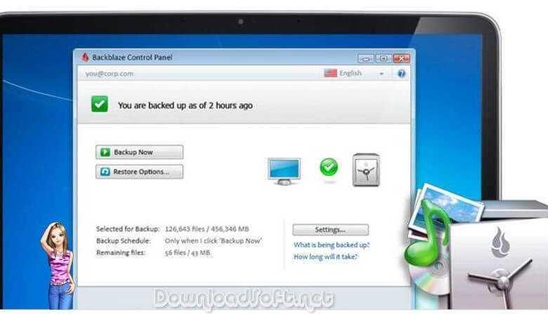 Download BackBlaze Backup Unlimited Quantity of Data Free