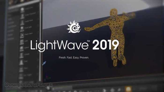 Download NewTek LightWave 3D Fresh and Fast for PC & Mac