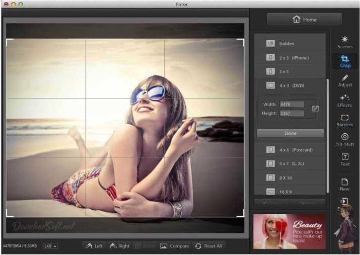 Fotor Photo Editor - Qui Fait Tout Simple et Amusant