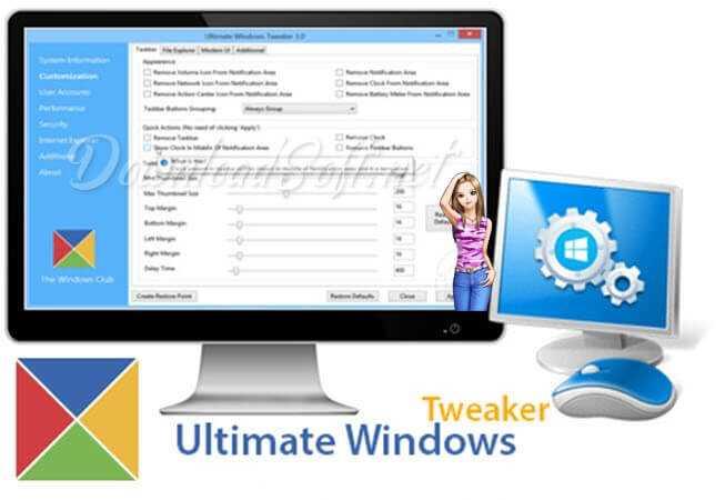 Télécharger Windows Ultimate Tweaker - Accélérez Votre PC