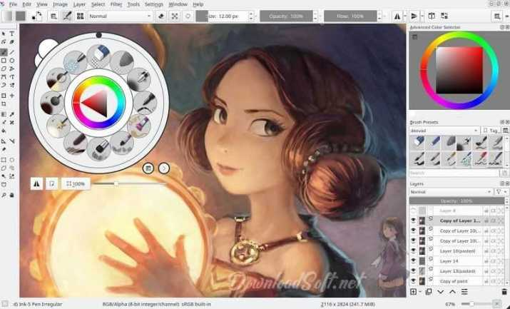 Download Krita 2019 Free Open Source Design and Coloring