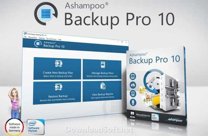 Download Ashampoo Backup Pro 10 (Latest 2019) for Windows