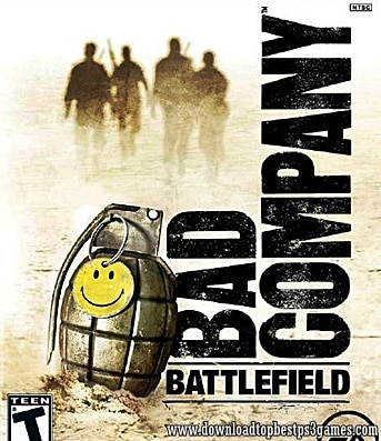 Battlefield Bad Company Game Xbox 360