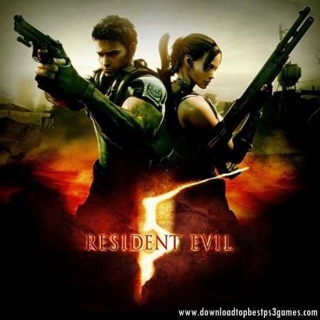 Resident Evil 5 (Biohazard 5) Game PC