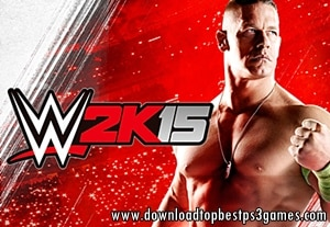 WWE 2K15 GAME FOR PS3