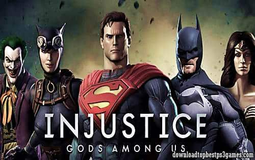 Injustice Gods Among Us PS3 Download (ISO) Game Free With DLC (PKG)