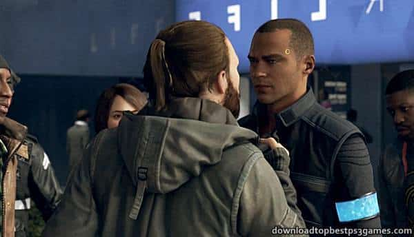 Detroit Become Human PS4 ISO