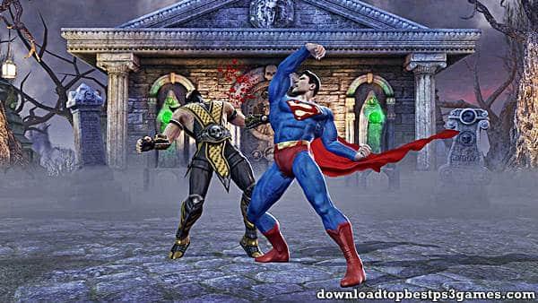 Mortal Kombat Vs DC Universe PS3