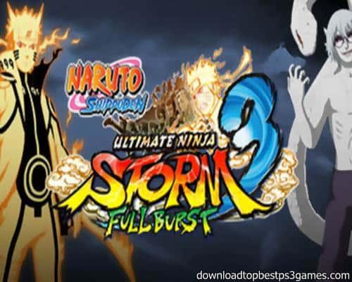Naruto Shippuden Ultimate Ninja Storm 3 Game PS3