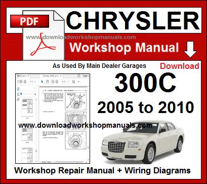 chrysler 300c workshop service repair manual download