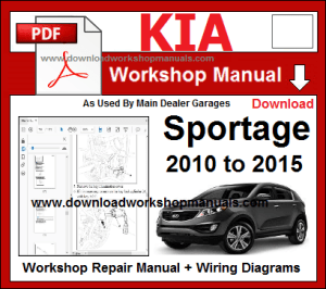 KIA WORKSHOP MANUALS