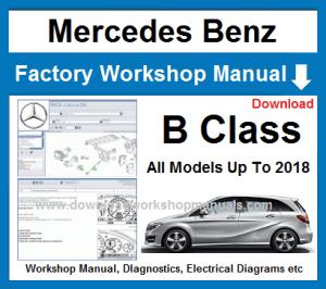 Mercedes B Class Workshop Repair Manual