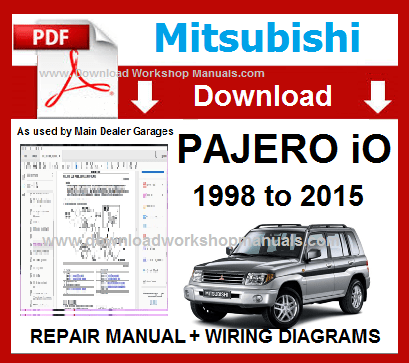 mitsubishi pajero io wiring diagram  wiring diagram power