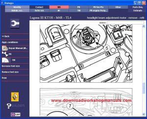 Renault Laguna Workshop Service Repair Manual Download