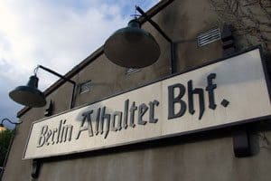 "Downpatrick Station becomes ""Berlin Alhalter Bahnhof"""