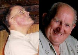 Arthur Muskett (left) and Adam Hamilton (right) who recently passed away