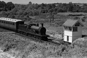 Bundoran Junction (North) signal cabin in its original position (c) Bluebell Railway Museum