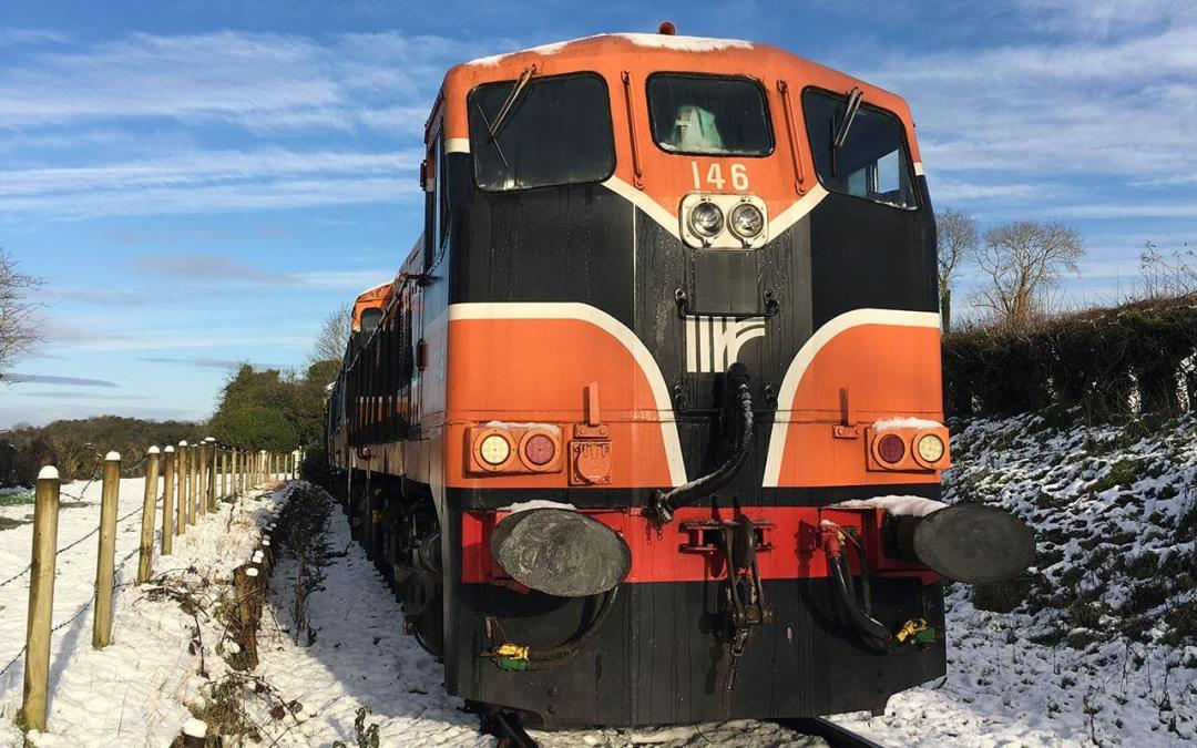 New Year Trains at Downpatrick Railway Offer Turkey-free day out