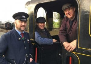 Be sure to talk to the driver and fireman and see the footplate
