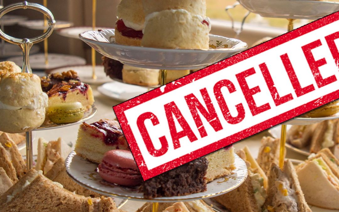 Mother's Day Afternoon Teas CANCELLED