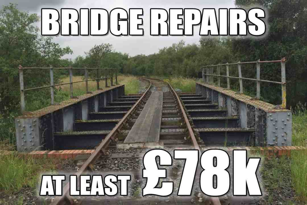 Bridge repairs - £78k
