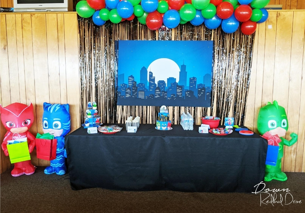 Pj Masks Birthday Party Lots Of Ideas And Free Printables