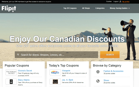 Flipit.com/CA Canada @DownshiftingPRO Travel Saving Tips