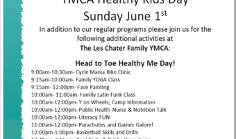 YMCA–#YHealthyKids Day–FREE Family Fun–GTA, Hamilton, Burlington and Brantford and across the country