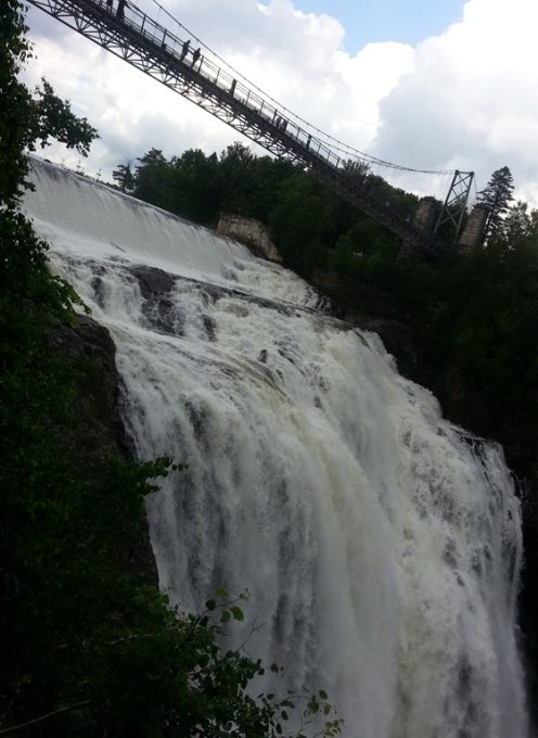 Montmorency Falls Park #BonjourQuebec #DPROfamilyVaca @DownshiftingPRO #quebec_1
