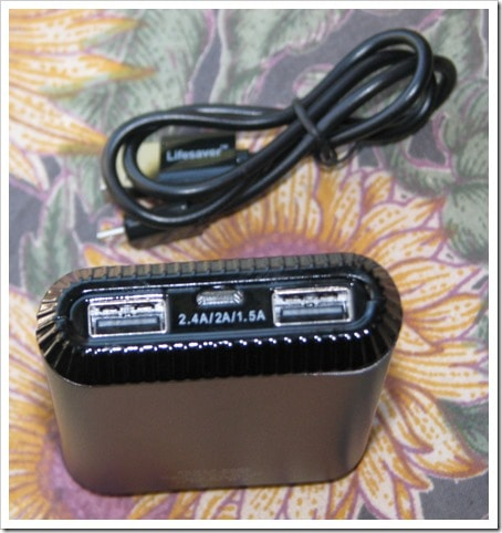 Lifesaver III Portable Power Pack Cell Phone & Tablet Battery Charger DownshiftingPRO Product Review