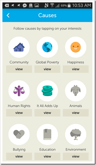 We365 App Review - @DownshiftingPRO #WeDay CAUSES