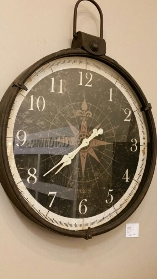 Urban Barn - Wall Clock Compass @DownshiftingPRO