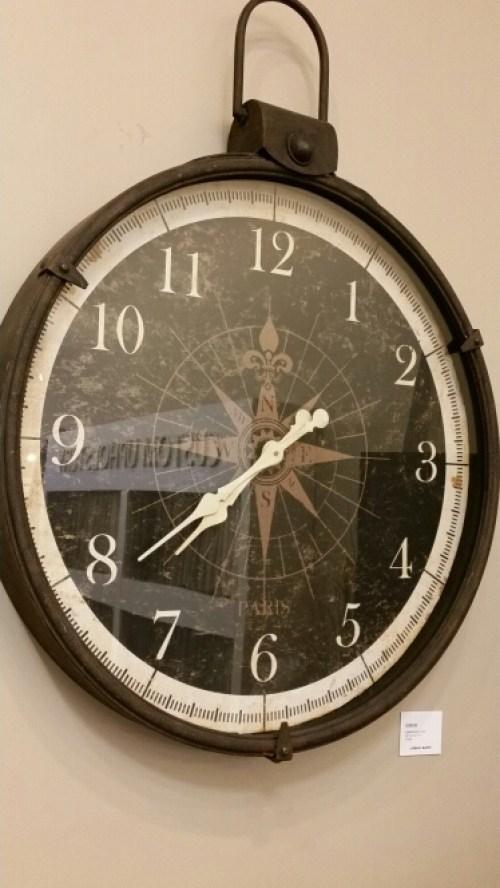Urban Barn - Wall Clock Compass @DownshiftingPRO