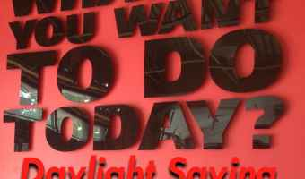 4M – Daylight Saving's Time Checkup #organizing