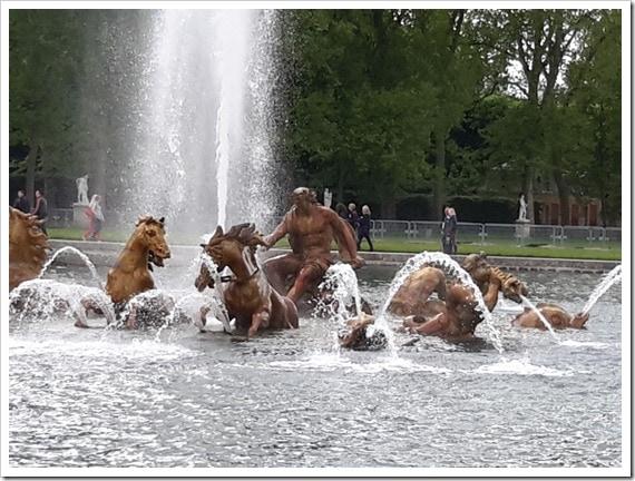 Apollo's Fountain Versailles, France @DownshiftingPRO