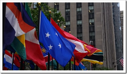 Rockefeller Center @DownshiftingPRO - Flags2