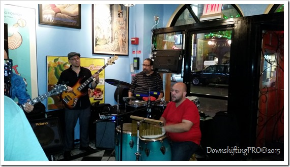 Havana Central Restaurant Review Time Square NYC @DownshiftingPRO_Live Band