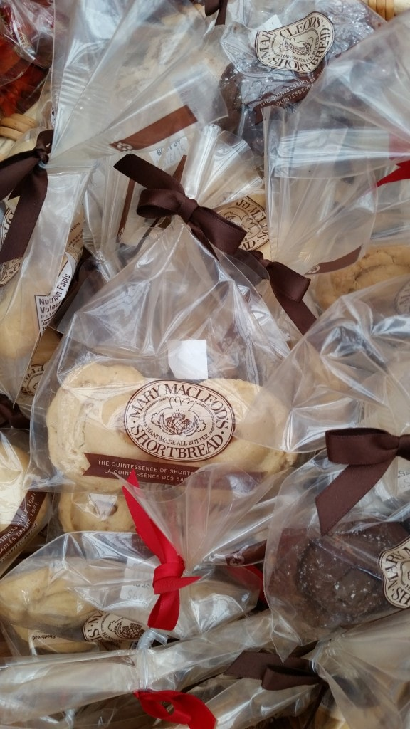 Mary Macleod Handmade All Butter Shortbread featured at the Toronto Food and Wine Festival