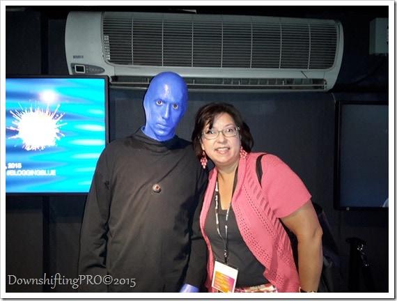 Blue Man Group #BBNYC Blogger Bash Event @DownshiftingPRO
