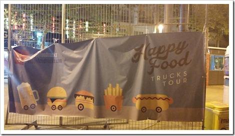Lloret de Mar, Spain - Food Truck & Caravan Food Festival -
