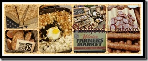Oldest Farmer's Market in Ontario Stratford @DownshiftingPRO