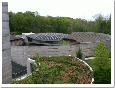 Crystal Bridges–Museum of American Art, Bentonville AR Enterance