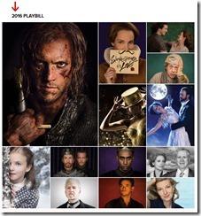 Stratford Festival Playbill 2016_Shakespeare in Love