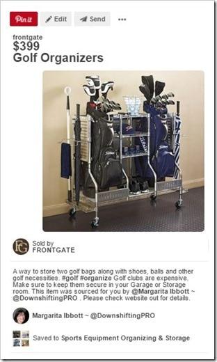 Sports Equipment Organization_Golf Cart