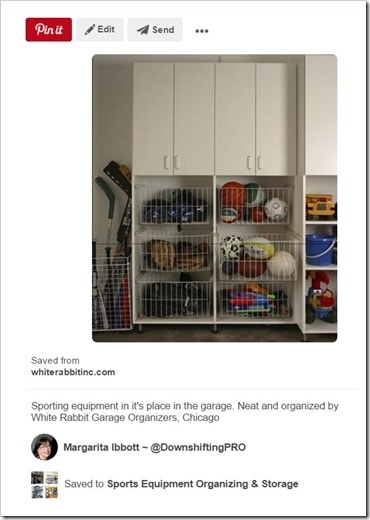 Sports Equipment Organization_Multiple Cubbies and Baskets
