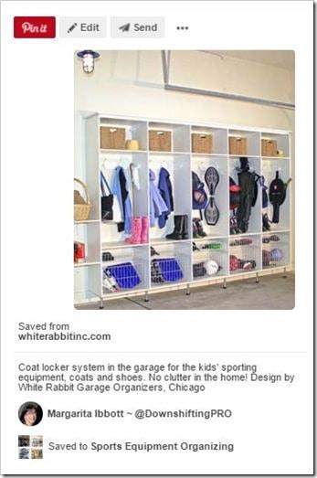 Sports Equipment Organization_Multiple Cubbies