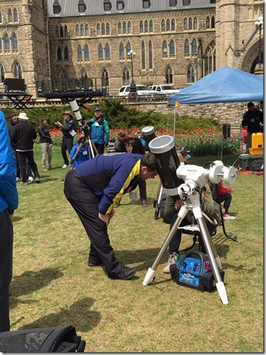 Stargazing and Science Odyssey on Parliament Hill in Ottawa #Travel