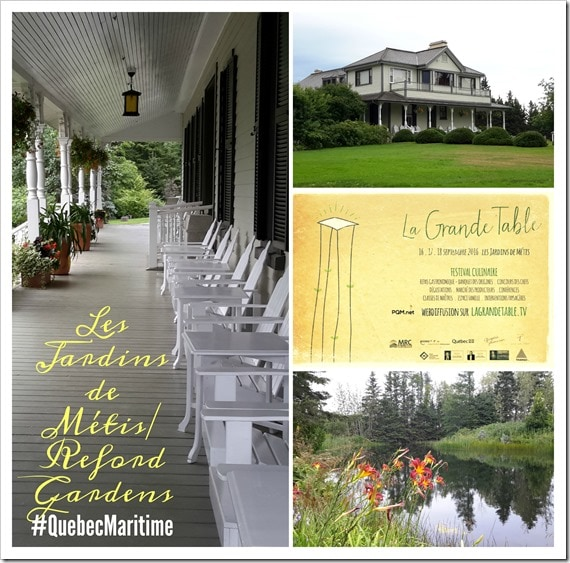 Reford Gardens_La Grande Table_#QuebecMaritime