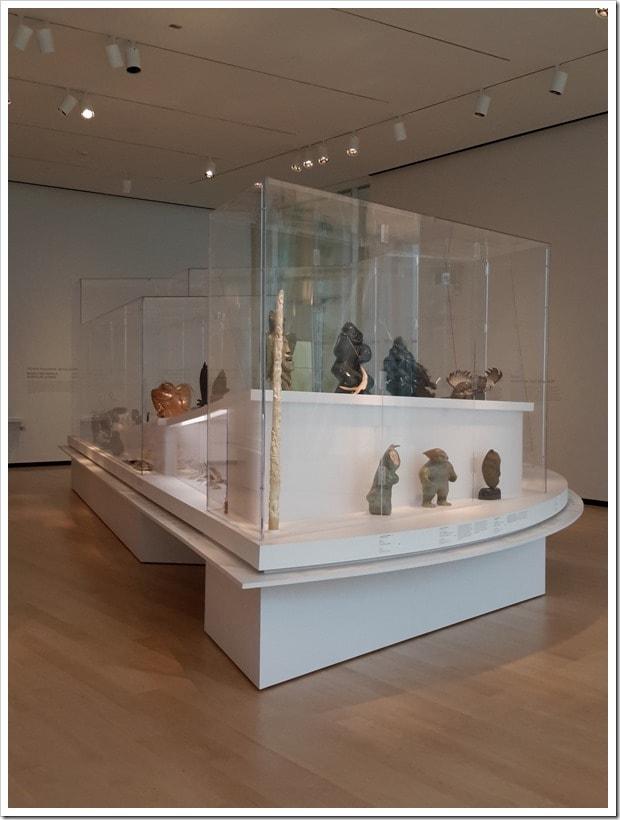 Pierre Lassonde pavilion of the Musée national des beaux-arts du Québec - Inuit Art The Brousseau Collection - #QuebecOriginal