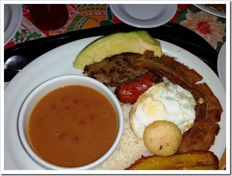 Dona Elena_Bandeja Paisa_skirt steak_DPROtravelCURACAO_Restuarnt Review